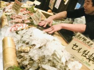 本日のオススメを紹介!セル牡蠣