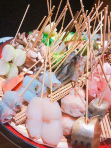 本日の串天ぷら