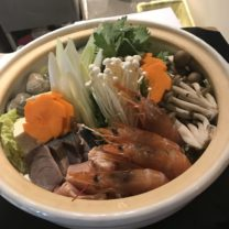 鍋のドアップ写真