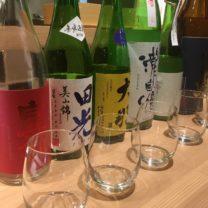 自信満点の味の日本酒