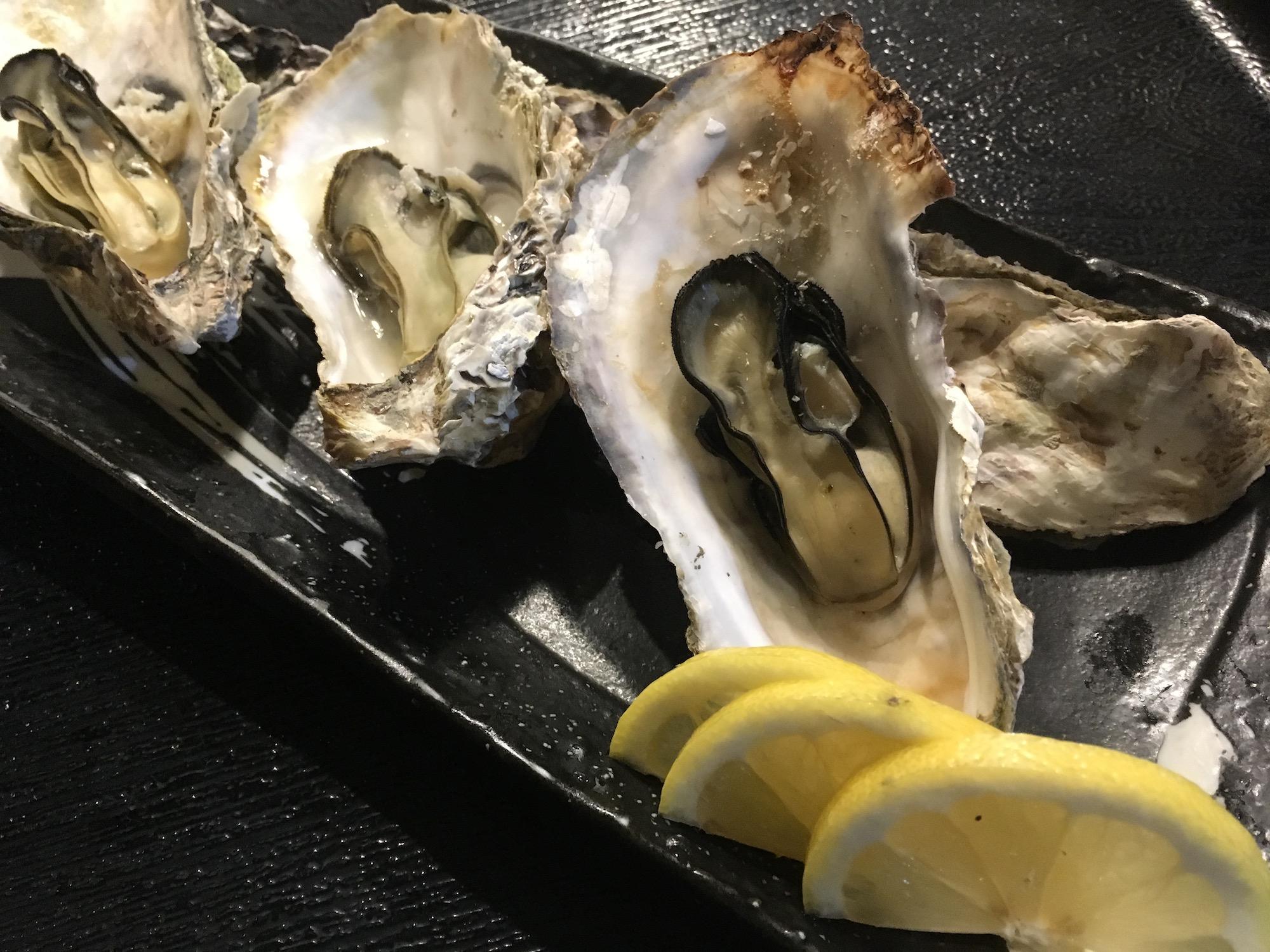 南伊勢の牡蠣