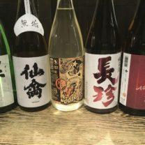 月替わりの日本酒