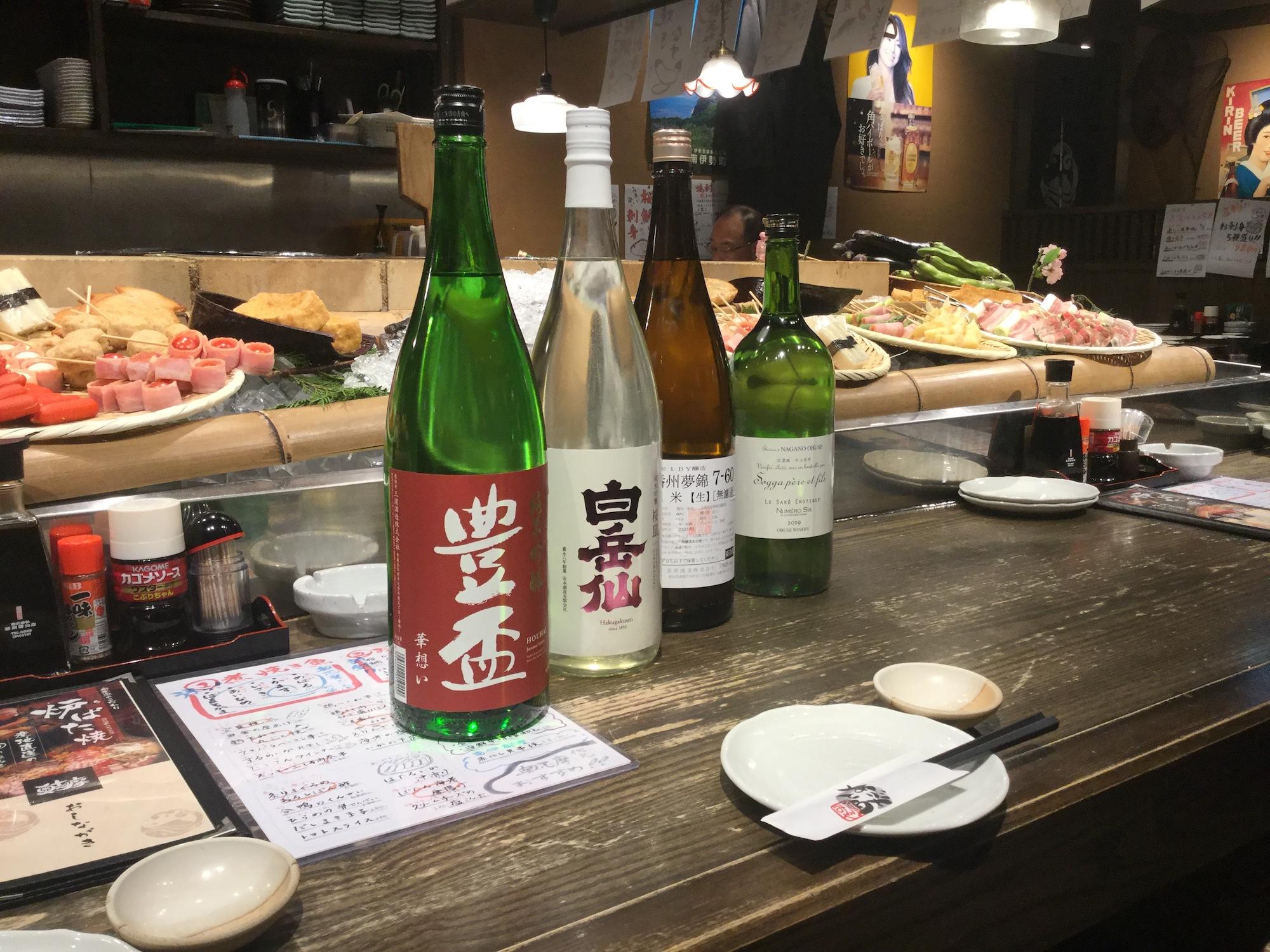 仲間入りした日本酒