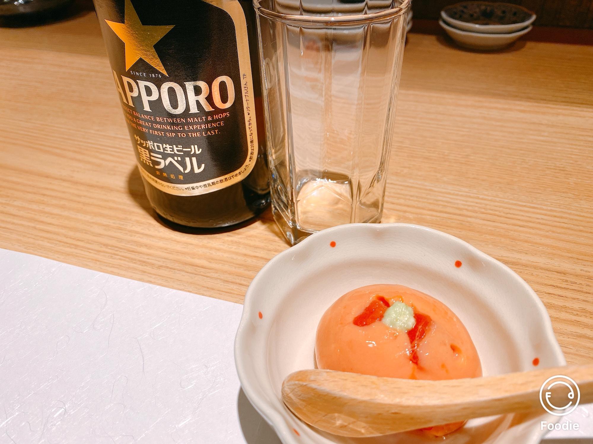 トマトを使ったお豆腐