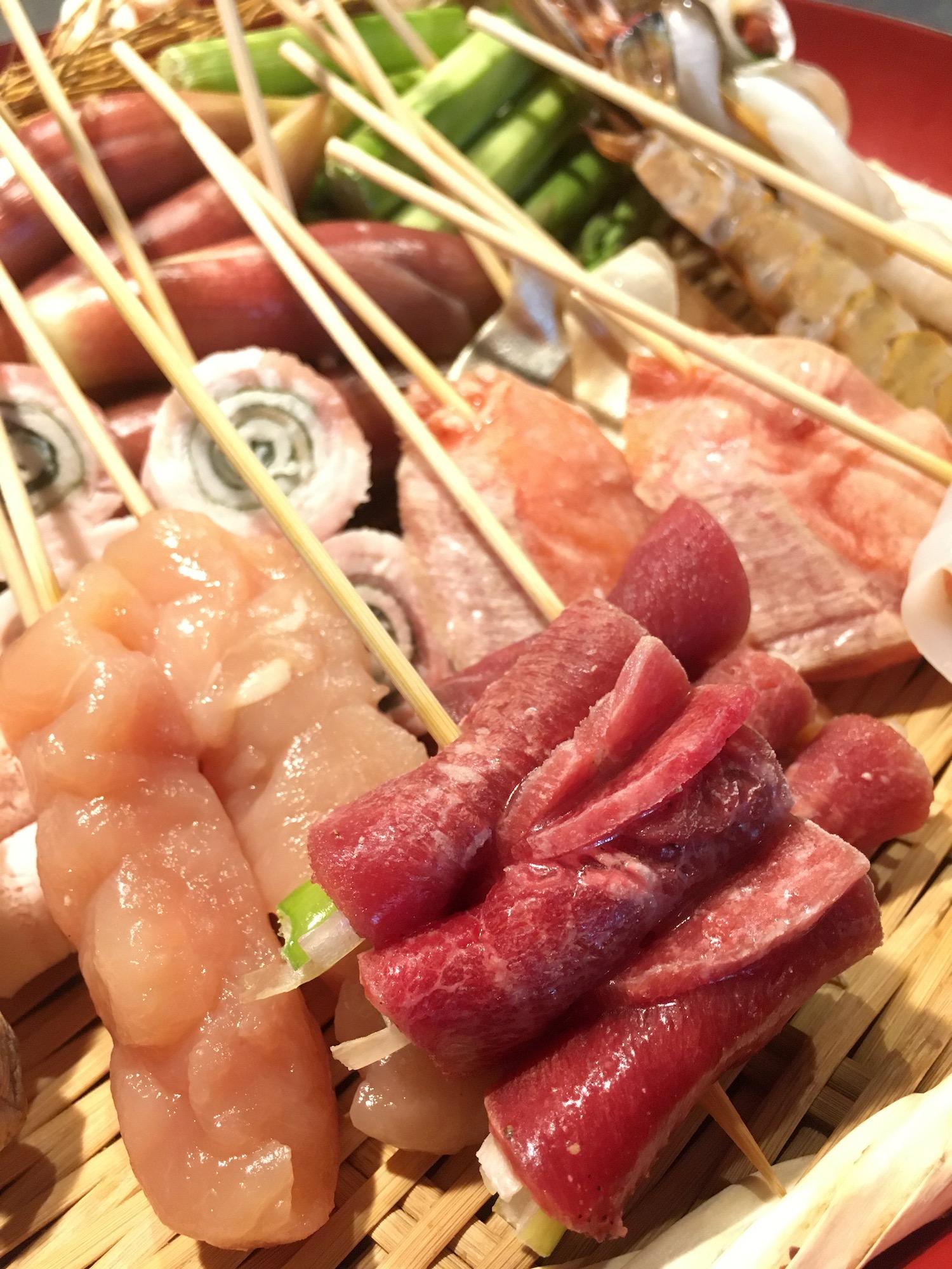 天ぷら串のおすすめ