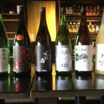日本酒の会のお酒