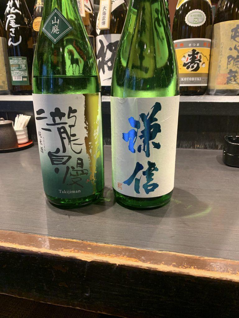 日本酒 瀧自慢と謙信