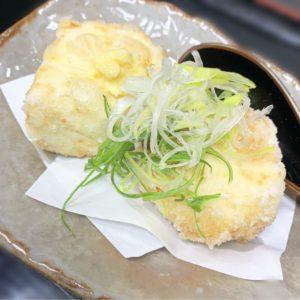 濃厚豆腐の厚揚げ